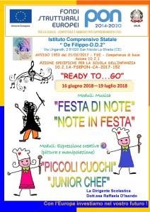 ready to go-inizio moduli